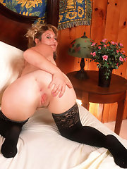 Good, Wife in stockings spread pussy really. was