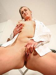 Rough anal pounding